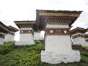 ドチュ・ラ(峠)の仏塔