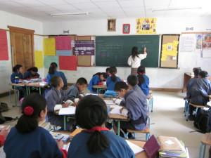 算数の授業も英語で